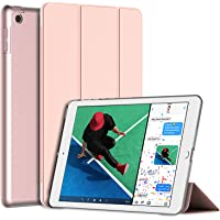 JETech Funda para Nuevo iPad 9,7 Pulgadas (2018/2017 Modelo), Carcasa con Auto-Aueño/Estela, Oro Rosa