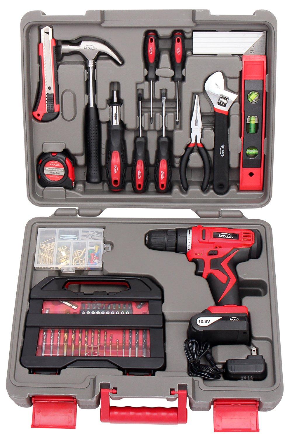 Apollo Precision Tools DT0219 Household Tool Kit, 143-Piece by Apollo Tools