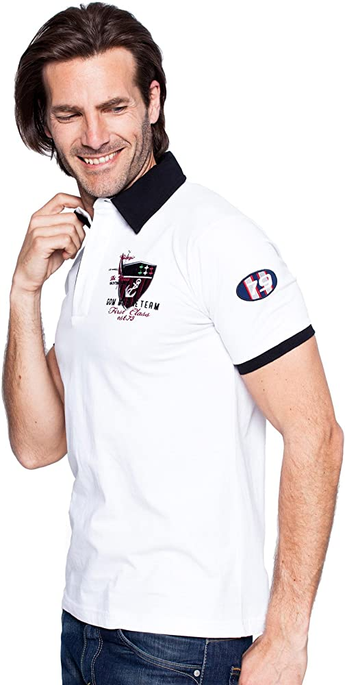 Giorgio Di Mare - Polo - para hombre blanco X-Large: Amazon.es ...