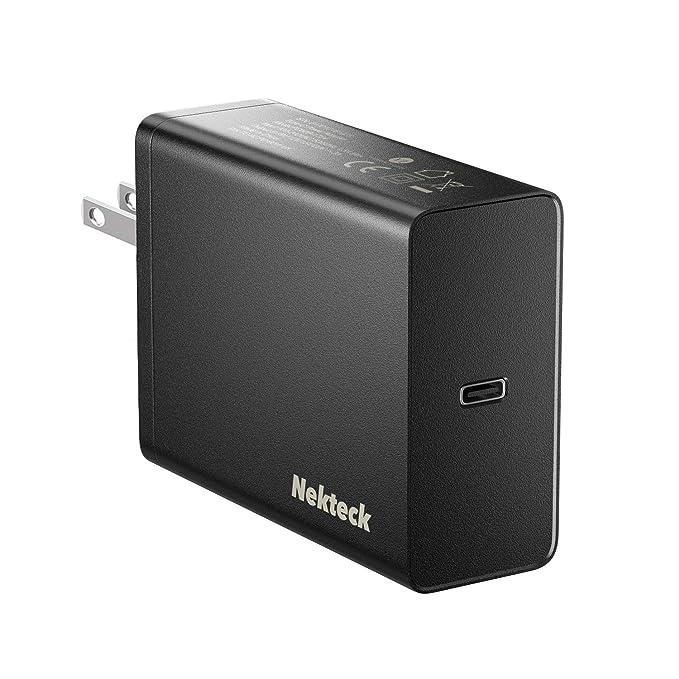 Nekteck - Cargador USB C (60 W, Tipo C, PD3.0, Compatible con ...