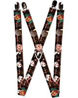 Buckle-Down Buckle-Down Suspender - Dream Catcher Accessory, -Dream Catcher, One Size