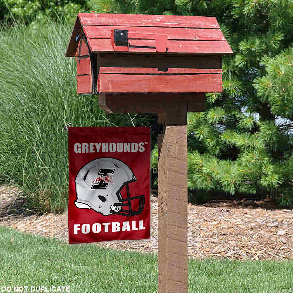 University of Indianapolis Football Helmet Garden Flag College Flags and Banners Co