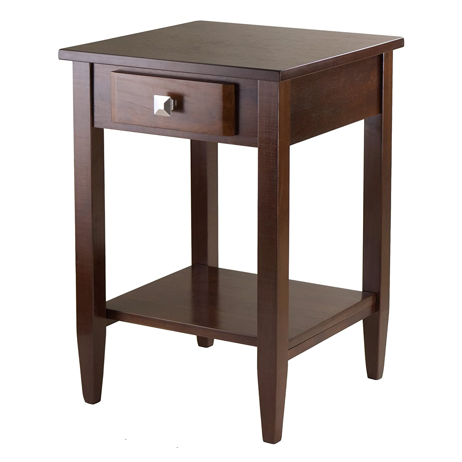 Winsome Wood Richmond End Table with Tapered Leg 94118