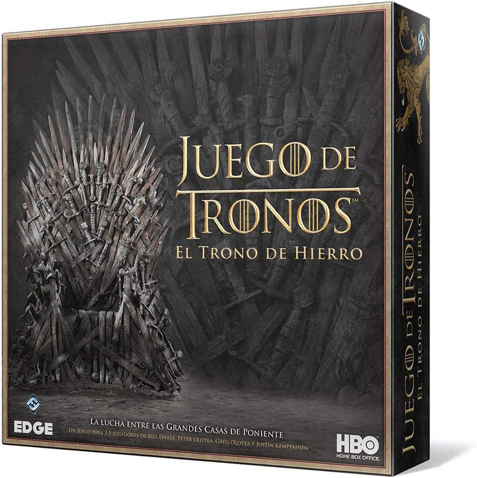 Juego de Tronos - El trono de Hierro, juego de mesa: Amazon.es ...