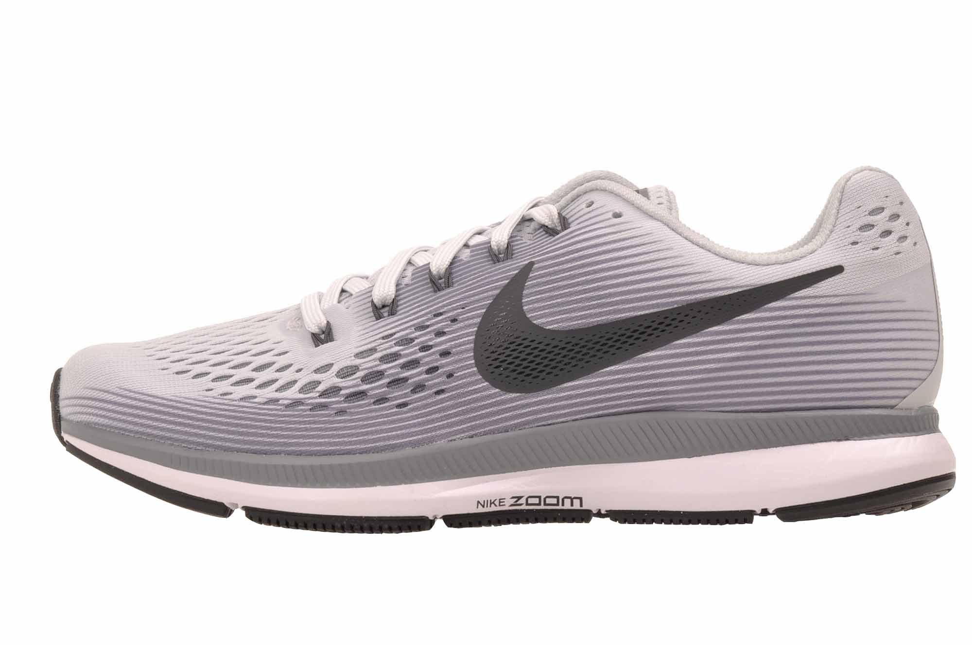 Nike Women's Air Zoom Pegasus 34 Pure Platinum/Anthracite Running Shoe