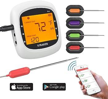 Soraken Wireless Remote Thermometer