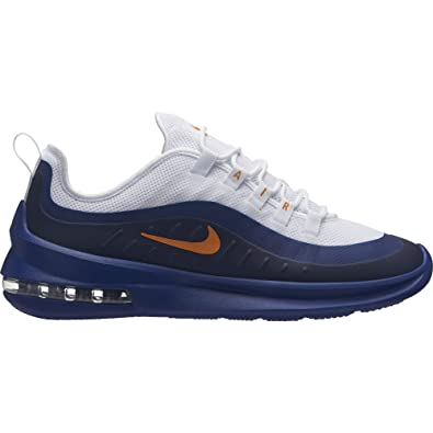 Nike Men's Air Max Axis Shoes (10.5, WhiteOrangeBlue)