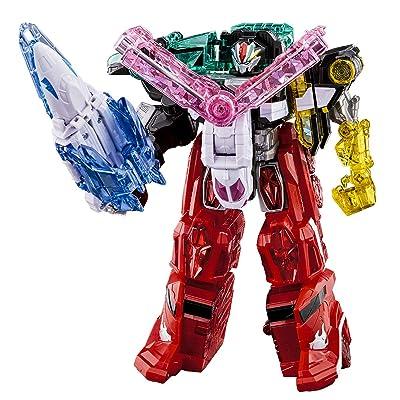 Bandai Mashin Sentai Kiramager Robot Series 01 Mashin Gattai DX Kiramaizin Set: Toys & Games