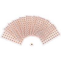 SUPVOX Semillas Desechables para la presión del oído Acupuntura Yeso Frijol Massagee Kit de acupresión de semilla de oído 600 Cuentas (10 Hojas)