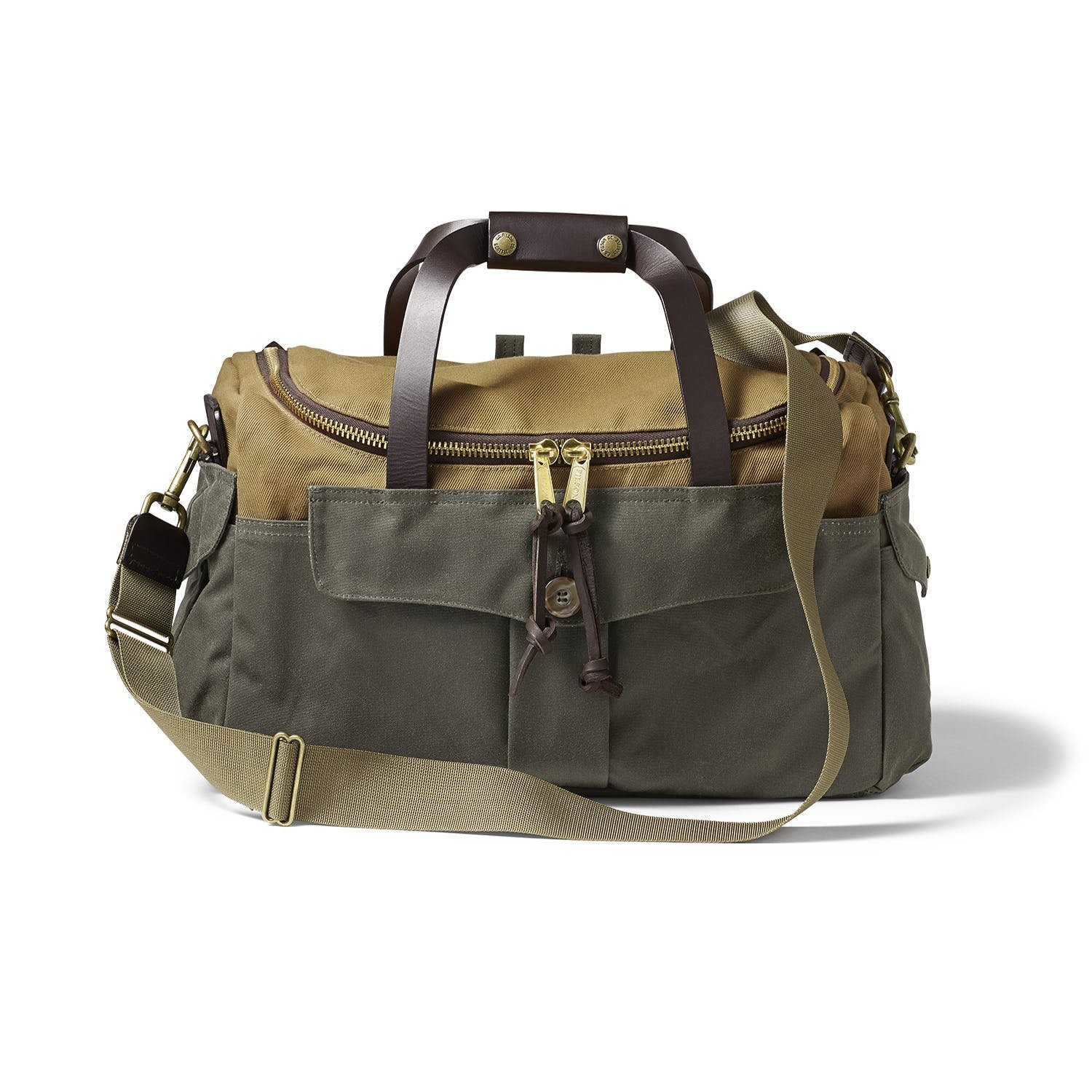 Filson Heritage Sportsman Bag Tan/Otter Green 👀