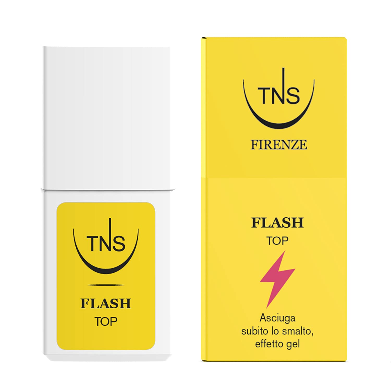 TNS COSMETICS Flash Top Coat 10 ml - 1 pz Tecniwork