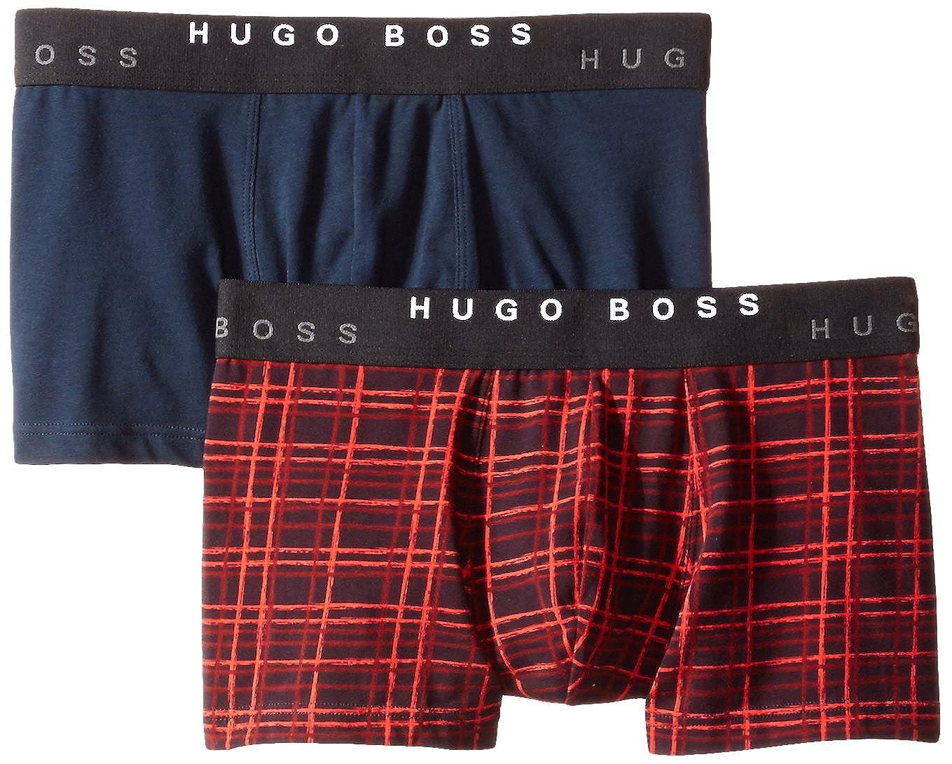 Hugo Boss BOSS Men's 2-Pack Cotton Stretch Boxer Brief HUGO BOSS Men' s Underwear 50271737