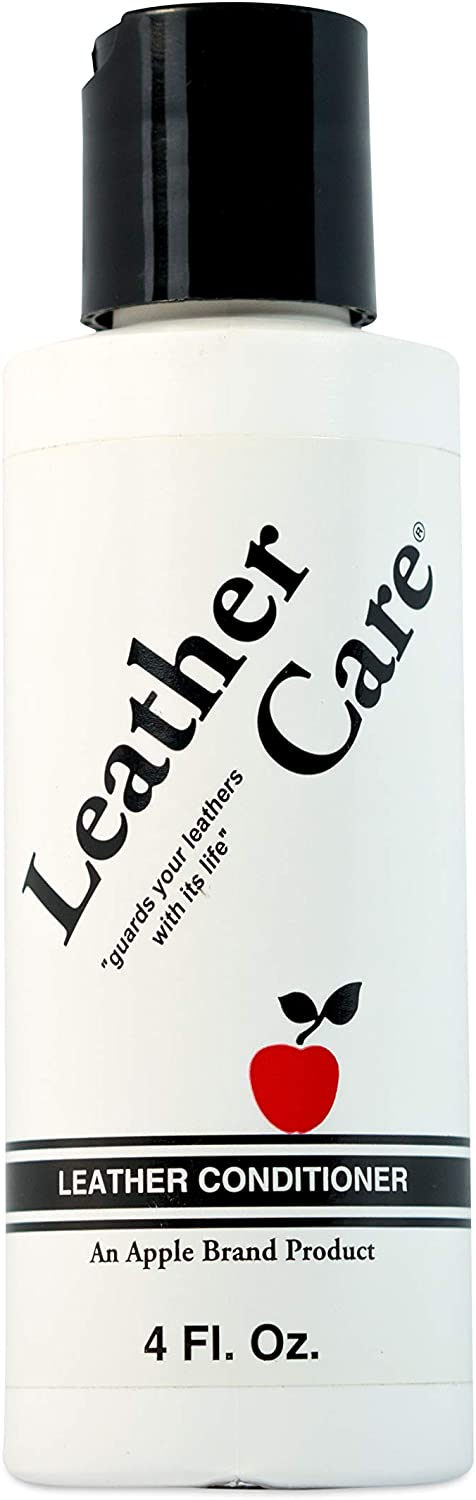 Apple Brand Wax-Free Leather Care Preservative and Conditioner - 4 Ounces