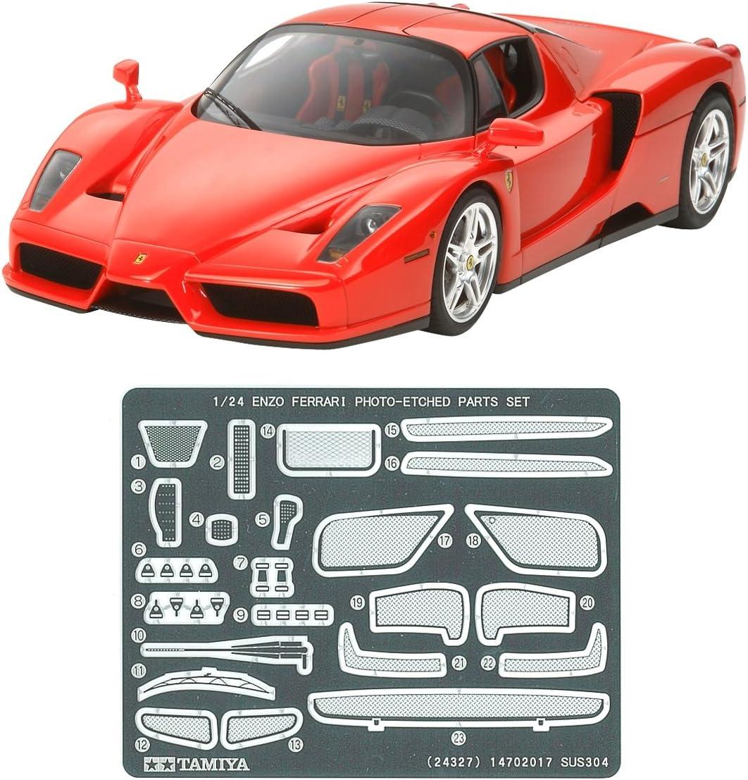 Tamiya 300024327 1 24 Ferrari Enzo Mit Photo ätzteilen Amazon De Spielzeug