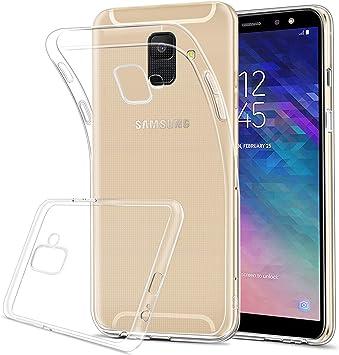 HOOMIL Transparente Silicona Funda para Samsung Galaxy A6 2018, Clear Carcasa Case para Samsung Galaxy A6 2018 Smartphone: Amazon.es: Electrónica