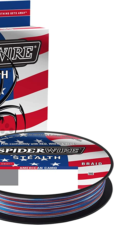 Spiderwire SCSM30G-200 Stealth 30 lb Green Braided Fishing Line