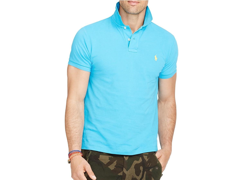 Ralph Shirt Men's X Lauren Caribbean Sleeve Polo Blue Short FpXpxqrw