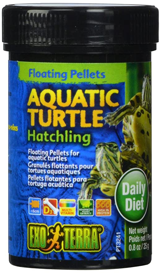 Exo Terra Alimento para Cría de Tortuga Acuática - 25 gr ...