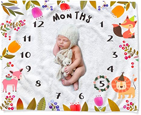 10 meses de antigüedad hito bebé crezca Body Bebé Regalo Personalizado