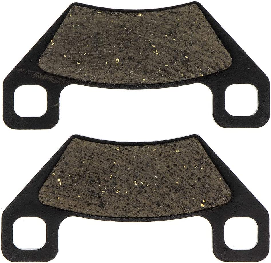 NICHE Front Rear Brake Pad Set For Arctic Cat 1436-420 1436-811 Polaris 2204137 Organic