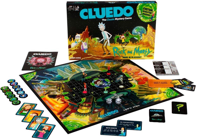 Eleven Force - Cluedo Rick y Morty, Juego de Mesa: Amazon.es: Juguetes y juegos