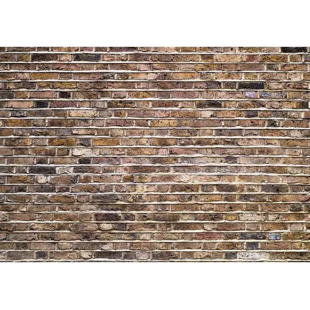 wall26 Fragment of an Old Brick Wall Background - Removable Wall Mural | Self-Adhesive Large Wallpaper - 100x144 inches by wall26 (Image #2)