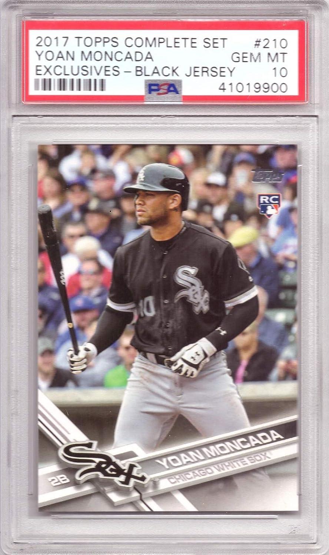 2017 Topps Factory Variation Baseball #210 Yoan Moncada Rookie Card White Sox Graded PSA 10 Gem Mint
