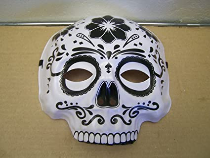 dia de los muertos day of the dead sugar skull halloween mask