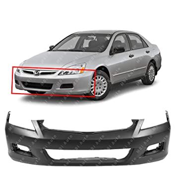 2006 Honda Accord Sedan >> Mbi Auto Primered Front Bumper Cover For 2006 2007 Honda Accord Sedan Ho1000235
