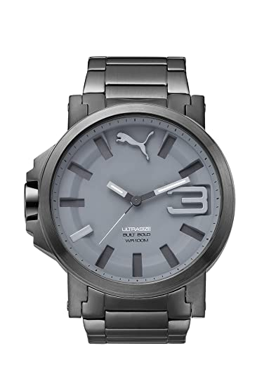 de96bdd99 Puma PU103911004 Reloj Análogo de Lujo, para Hombre, gris: Puma ...