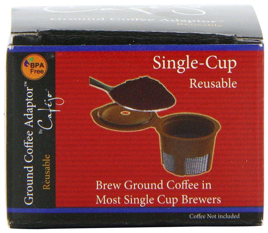 Cafejo Single Serve Reusable Filter für Keurig Capsule Brewers