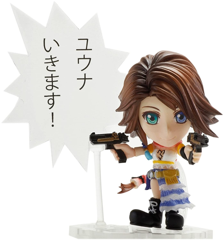 Final Fantasy Fantasy Fantasy X: Kai Mini Yuna Trading Arts PVC Figur e67c53