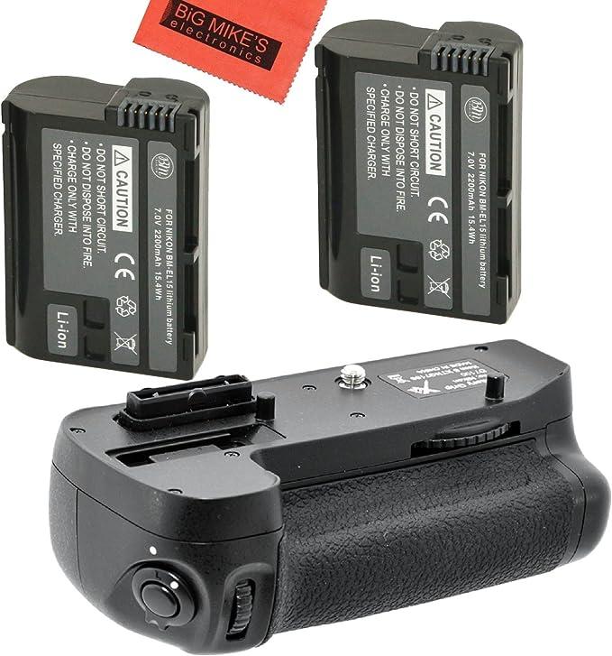 Empuñadura D15 Battery Grip para Nikon D7100 compatible con MB D15 MBD15