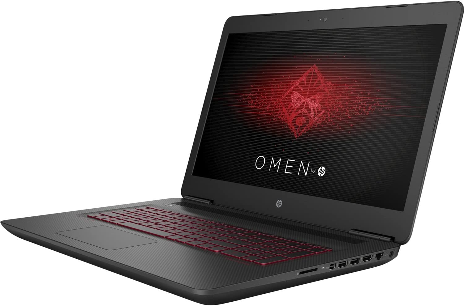 HP OMEN LAPTOP 17-W220NR;WIN10 HOME,INTEL CORE I7-7700HQ,12GB DDR4,NVIDIA GEFORC