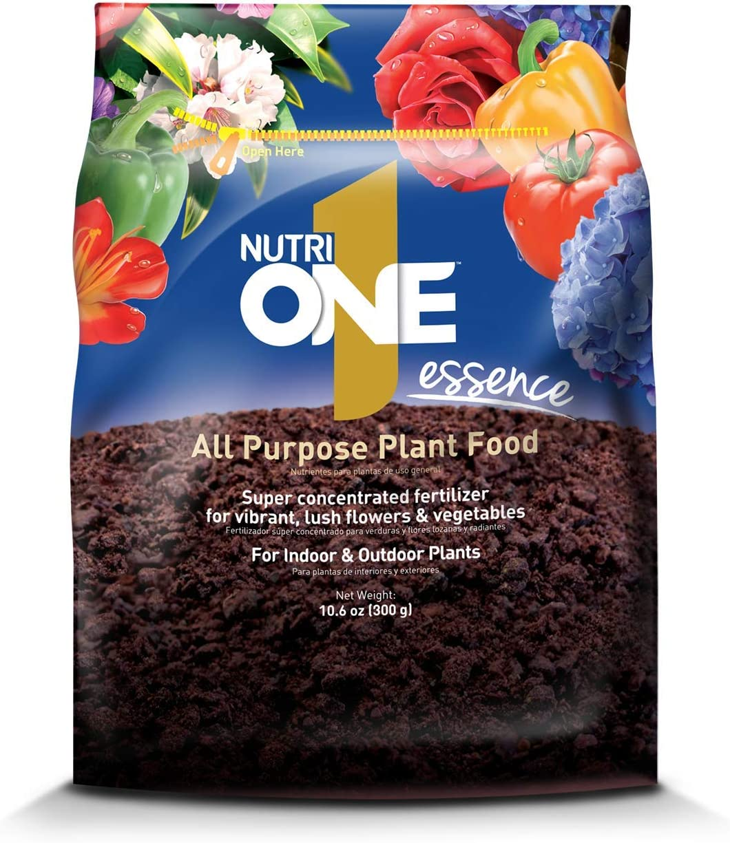 NutriONE 710200A All Purpose Food Essence for Indoor & Outdoor Plants, Flowers & Vegetables, 10.6 Oz, Concentrate