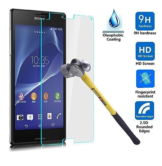 2 opinioni per ELTD Sony Xperia XZ 5.2 pellicola protettiva, tempered Glass Pellicola