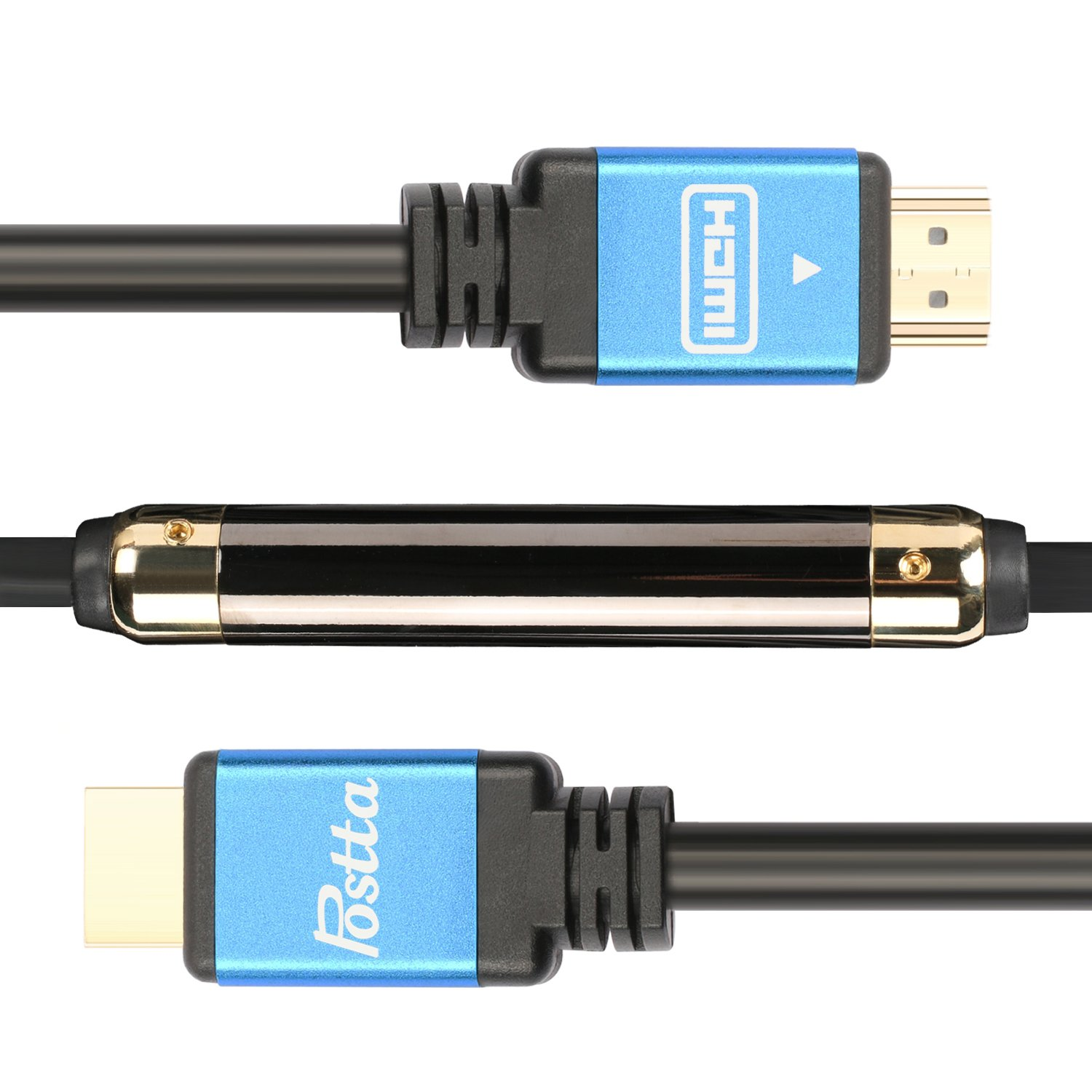 Amazon.com: Cable de apoyo Postta, ultra HDMI 2.0 voltios ...