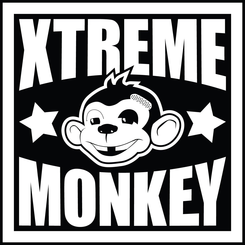 Xtreme Monkey Black Steel Swiss Bar - Angled