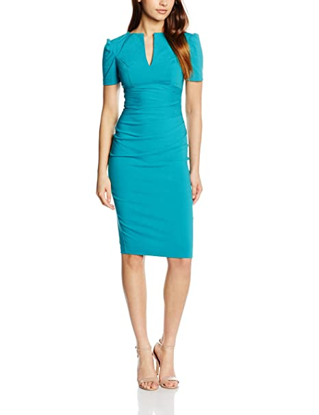 Hybrid Jiordana, Vestido para Mujer, Azul (Petróleo), 36
