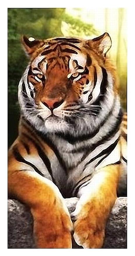 """Toalla, playa, toalla de mano – """"Jungle Tiger – En la"""