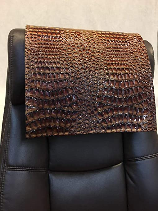 Terrific Luvfabrics 14X30 Inch Copper Swamp Faux Leather Vinyl Sofa Loveseat Chaise Theater Seat Rv Cover Chair Caps Headrest Pad Recliner Head Cover Beatyapartments Chair Design Images Beatyapartmentscom