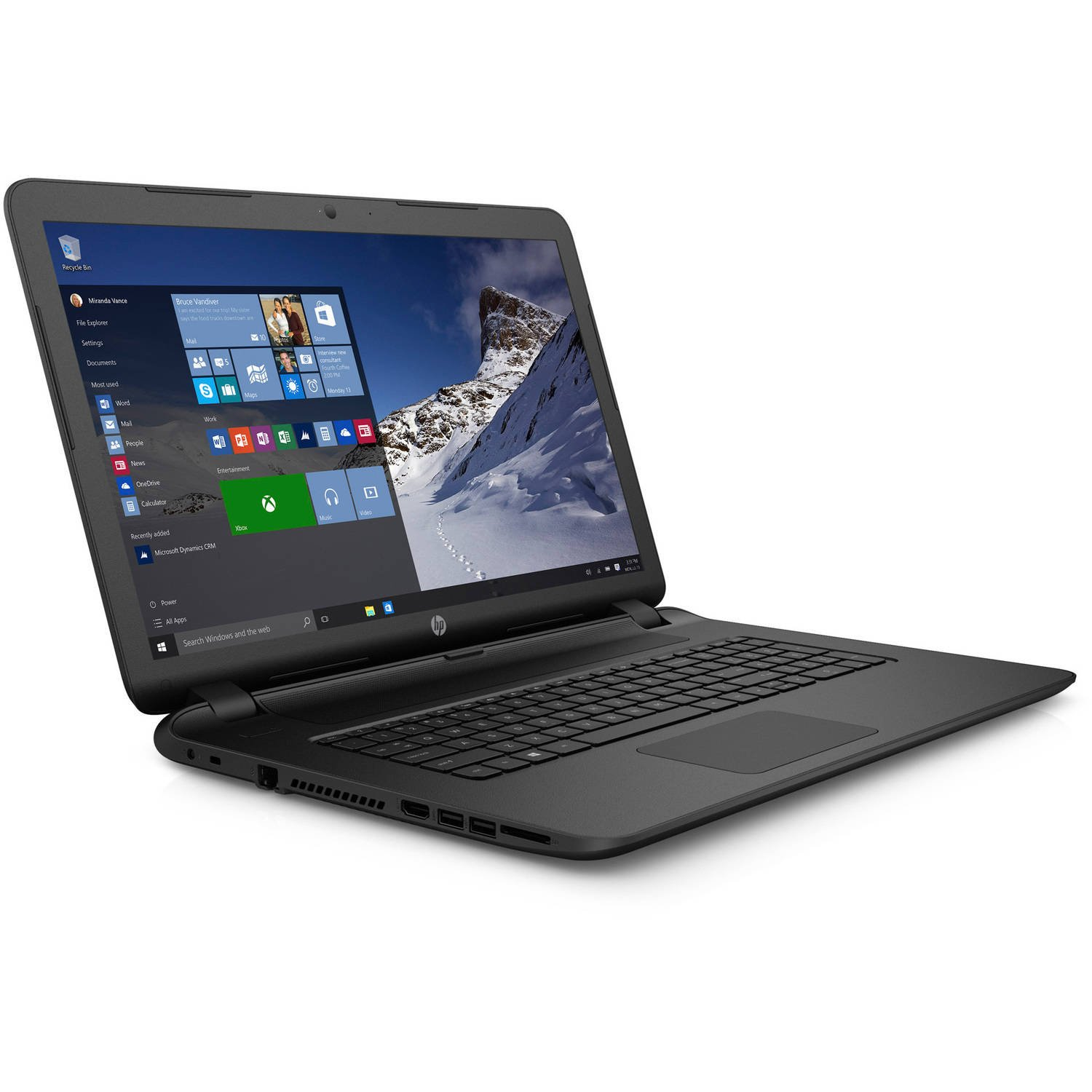 Amazon.com: HP Pavilion 17 Flagship HD+ 17.3-inch Laptop (1600 x 900),  Intel Core i5-4210u Processor, 4GB RAM, 1TB HDD, Intel HD Graphics 4400,  DVD, HDMI, ...