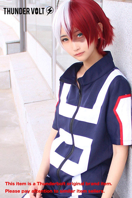 Thundervolt Anime Cosplay My Hero Academia Gymnastics Uniforms Costume