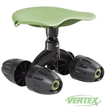 Amazoncom Garden Rocker Rolling Comfort Seat By Vertex With