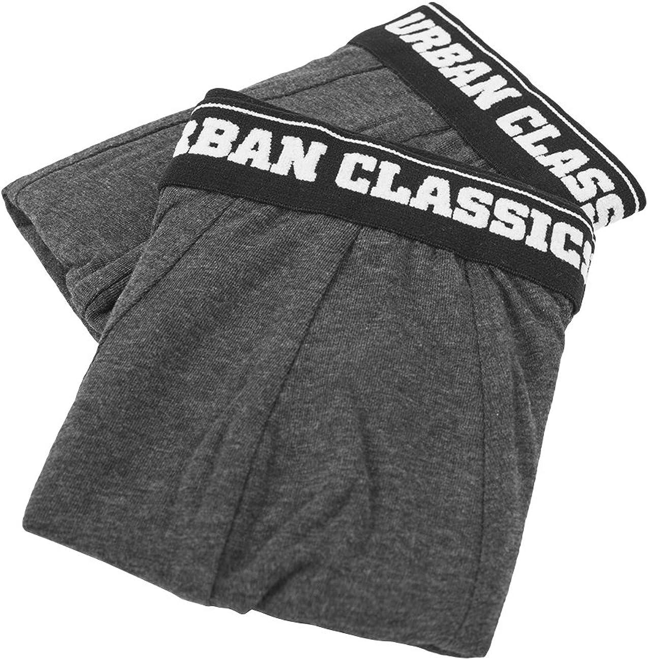 Urban Classics Mens Boxer Shorts Double Pack Hombre