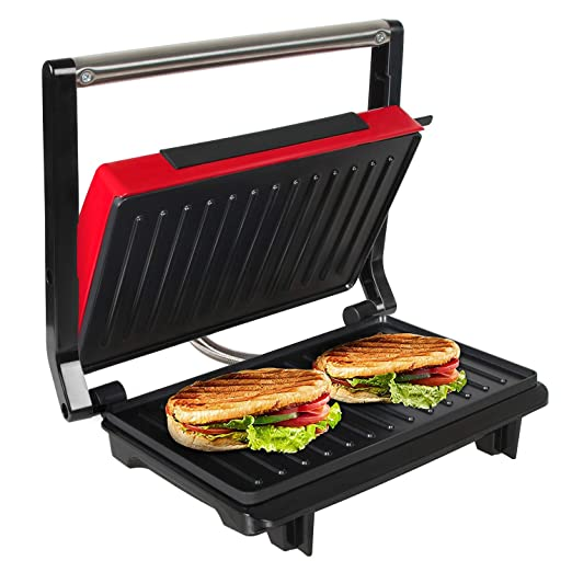 OZAVO Sandwichera Grill Panini & Toast, Parrilla eléctrica ...