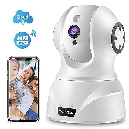 HUMGOO HD 1080P Cámara IP WiFi, Camaras de vigilancia Interior, Cámara de Seguridad P2P