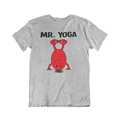 MR Yoga Mens Gift T-Shirt Camiseta Para Hombre: Amazon.es ...