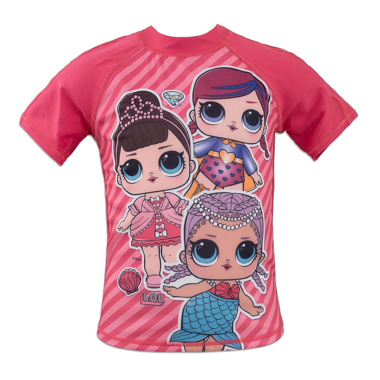 Disney Vaiana Costume Maglietta Muta Mare Piscina Anti UV 30+ Prodotto Originale con Licenza Ufficiale G-44