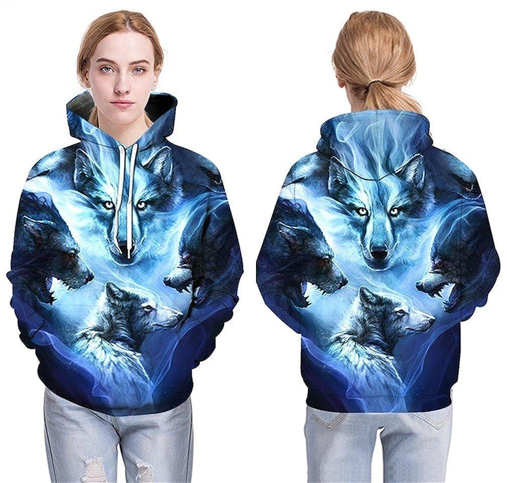 3D Men Women Sweatshirts Autumn Tracksuits Outwear Casual Animal Male Jacket Pullover